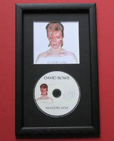 David Bowie - ALADDIN SANE CD Disc MEMORABILIA presentation